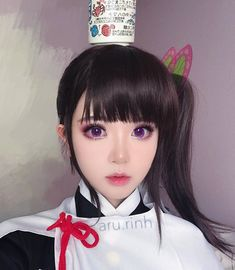 this is the only tea cup i have :'( Kanao cosplay Asian Cosplay, Cosplay Anime, Cute Cosplay, Cosplay Makeup, Amazing Cosplay, Cosplay Outfits, Demon Slayer, Slayer Anime, Best Cosplay Ever