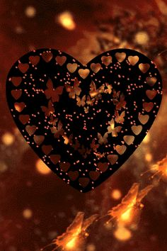 By Artist Unknown. Heart Pictures, Heart Images, Gif Pictures, Heart Art, Love Heart, Peace And Love, Gifs, Coeur Gif, Gif Bonito