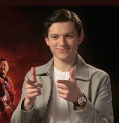""" i think i kinda . you know "" joshua bassett x fem! Avengers Memes, Marvel Memes, Tom Holland Peter Parker, Tommy Boy, Men's Toms, Meme Faces, Reaction Pictures, To My Future Husband, At Least"