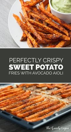 These sweet potato fries are incredibly easily made, can be changed to suit your taste and far less fatty than their deep fried counter part. If you never tried to bake your fries in the oven then you should definitely give these crispy sweet potato fries a chance.