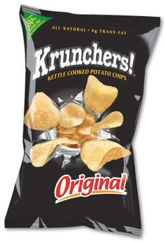 KRUNCHERS KETTLE COOKED POTATO CHIPS Packaging and Brand Advertising Campaign. Nothing OutKrunches Krunchers. Vintage Packaging, Brand Packaging, Packaging Design, Brand Advertising, Advertising Campaign, Snack Brands, How To Cook Potatoes, Natural Tan, Potato Chips