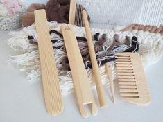 Weaving Tools, Loom Weaving, Hand Weaving, Weaving Wall Hanging, Wall Hangings, Tapestry Loom, Kits For Kids, Handmade, Crafts