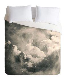 Astral Duvet Cover #bedding #duvet #clouds