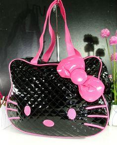 New Hellokitty HAND BAG SHOULDER BAG PURSE LAM-5030B01