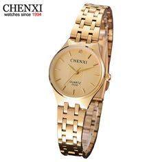378c80b431d CHENXI Brand Waterproof Women Watch Gold Ladies Quartz Watches Golden Women  Wristwatch Relogio Feminino Montre Femme