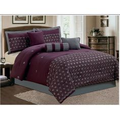 Found it at Wayfair - LaCozee Keira 7 Piece Embroidered Comforter Sethttp://www.wayfair.com/LaCozee-Keira-7-Piece-Embroidered-Comforter-Set-LZQ1082.html?refid=SBP