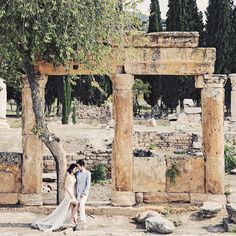 A love like this comes once in lifetime. Congratulations to the newlywed, it's been a joy to witness your beautiful wedding weekend  Photo by David | @awie  Location Hierapolis  MUA @elyagustina #brianjocetietheknot