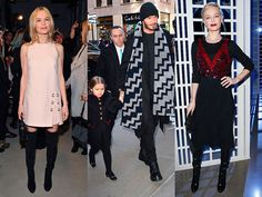 Famosos en los desfiles de moda de otoño-invierno 2016
