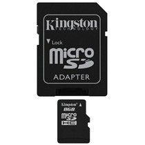 Memorija microSDHC 8GB Kingston Class 10 P/N: SDC10/8GB
