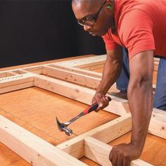 Wall Framing Tips for New Construction - you never know when you'll need to know how to build a wall!