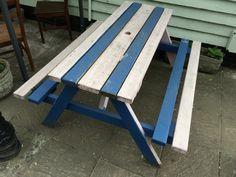 Picnic Table, Outdoor Furniture, Outdoor Decor, Bench, Football, Club, Home Decor, Soccer, Futbol