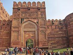 Fuerte Rojo de #Agra en #India
