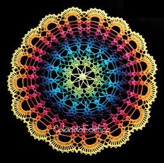 PATTERN - Gradient Doily