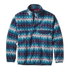 Patagonia | SYNCH SNAP-T P/O, Forest Carpet: Deep Sea Blue (FCDS) //