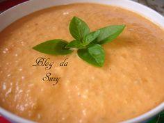 Blog da Suzy : Molho Vinagrete Cremoso (fácil)