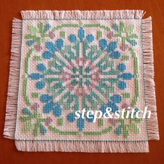 designed by Yu-ka Kishima   #embroidery #cross_stitch