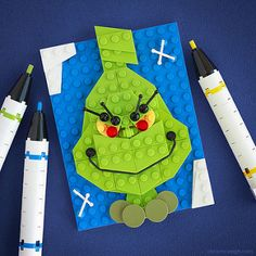 He's a mean one. | Bricksketch #21 | Chris McVeigh | Flickr