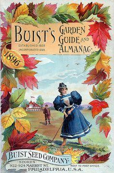 antique garden almanac
