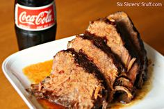 Slow Cooker Coca Cola BBQ Roast Beef . . . so tender it just falls apart!
