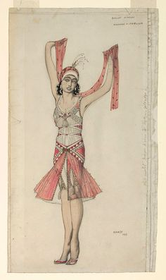 Costume design | Bakst, Leon | V Search the Collections