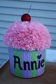 Cupcake valentine box | BabyCenter Blog