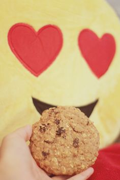 I've been really loving this cookie! Pretty And Cute, Healthy Snacks, Cookies, Desserts, Food, Health Snacks, Biscuits, Deserts, Cookie Recipes
