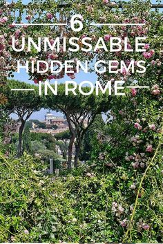 Rome has many world famous attractions, but there are plenty of lesser known sights that are equally interesting.