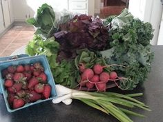 full tummies: The CSA Pick-Up and Aftermath