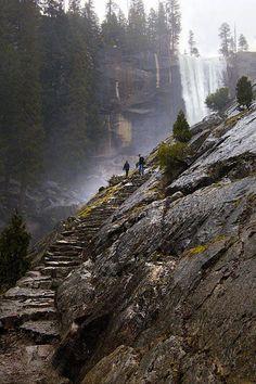 Mist Trail - Yosemite National Park