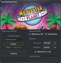 MovieStarPlanet Hack na Diamenty i StarCoins 2018