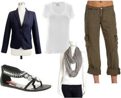 Cool & casual: nice look when traveling.