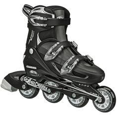 df42c14819b Details about Mens Roller Skates Adult Adjustable Inline Sports Outdoor  Skate Blade Size 6-9