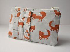 Fox print coin purse. £12.00