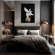 37 Wonderful Luxury Bedroom Design Ideas You Will Love - If you've ever watched Lifestyles of the Rich and Famous, you are familiar with what luxury bedroom decor is. It is defined by it's beauty, material, . Luxury Bedroom Design, Boho Bedroom Decor, Master Bedroom Design, Luxury Home Decor, Home Interior Design, Decor Room, Interior Architecture, Wall Decor, Wall Art