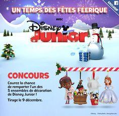 Concours Disney Junior : gagnez un ensemble de décoration gratuit!