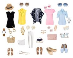 A fashion look from September 2016 featuring floral cardigan, short sleeve tops and short sleeve t shirt. Browse and shop related looks. Graham Spencer, Aspinal Of London, White Pants, Furla, Billabong, Charlotte Russe, Moschino, Velvet, Hat
