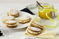 Citrus Recipes, Sweets Recipes, Cheese Recipes, Cake Recipes, Best Food Ever, Whoopie Pies, Delicious Desserts, Good Food, Lemon