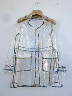 Clear raincoat for children from John Galliano kids for summer 2013