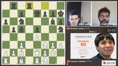#échecs : le maître international Sébastien Joie est aux commentaires de l'avant-dernière ronde du tournoi des candidats sur @TwitchTV_France