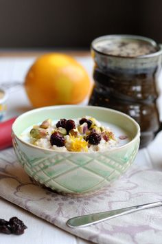 Switch up your morning routine with this Cherry Pistachio Oatmeal breakfast recipe! This delicious bowl—with sweet bits of fruit and crunchy nuts—is perfect for weekday mornings!