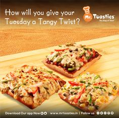 How will you give your Tuesday a Tangy Twist ? #MrToasties