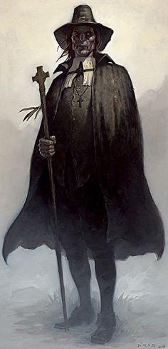 The Reverend - Gerald Brom | Fantasy Art