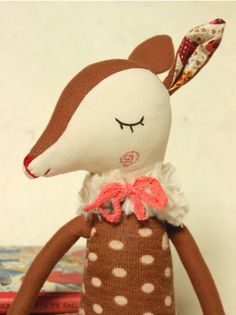 Miss Bambi soft toy. To make for the buzz