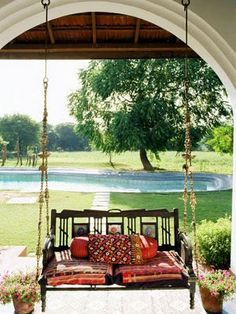 1000 images about hinchako zula swing on pinterest for Garden jhoola designs