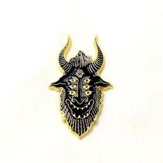 Satan Sees All Pin