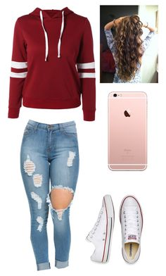 """""""Come Get Her"""" by hdflynn ❤ liked on Polyvore featuring Converse"""
