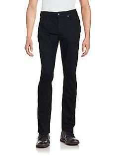 Joe's Five-Pocket Cotton Blend Pants - Decker - Size