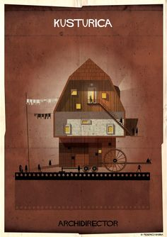 Gallery - ARCHIDIRECTOR: A Fantastical City Inspired by Famous Directors by Federico Babina - 21