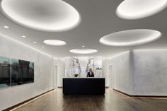 AKA Beverly Hills, CA | Oculus Light Studio: LED coves and wallslots.  0.74 watts/sft.