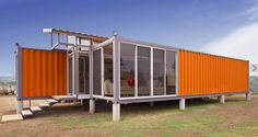 Containers of Hope Costa Rican Shipping Container House Building A Container Home, Container Buildings, Container Architecture, Container House Plans, Container House Design, Architecture Design, Container Cabin, 20ft Container, Cargo Container